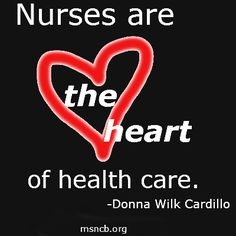 Absolutely♡♡♡ ... And  The Spine ♡♡♡ ... Without Nurses, Healthcare would Collapse!