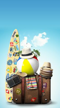 ↑↑TAP AND GET THE FREE APP! Art Creative Sky Bag Beach Travel Vacation Palms Sun Holiday HD iPhone 6 Plus Wallpaper Hd Iphone 5 Wallpapers, Iphone 6 Plus Wallpaper, Iphone 6 Wallpaper, Wallpaper Backgrounds, Beach Trip, Vacation Trips, Beach Travel, Travel Tips With Toddlers, Sabre Laser