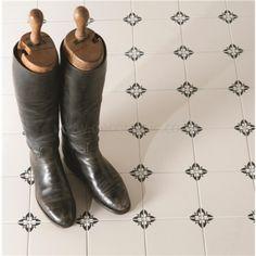 Empire Black on Dover White #tiles Odyssey Original Style