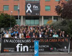 Alcobendas lee un manifiesto contra la Violencia de Género
