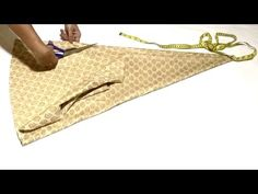 Panelled Palazzo Cutting And Stitching | DIY - Tailoring With Usha - YouTube