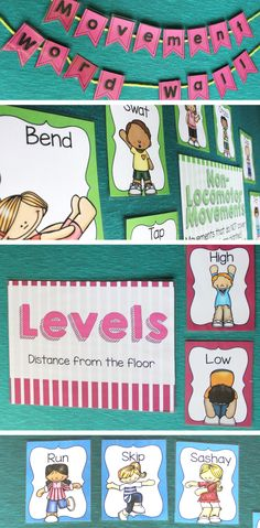 Get your music students moving with this great visual - perfect for the Orff classroom!
