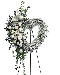 Floral Arrangements For Funeral, Tall Flower Arrangements, Sunflower Arrangements, Flowers For Funeral, Bereavement Flowers, Casket Flowers, Funeral Sprays, Family Flowers, Memorial Flowers