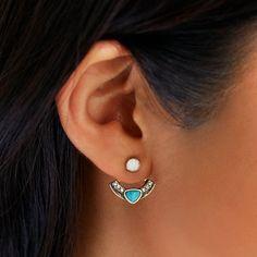 Capri Convertible Jacket Earrings | Chloe + Isabel