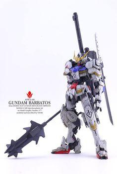 1/100 Gundam Barbatos Fully Remodeled by Naoki Satou | Gundam Century