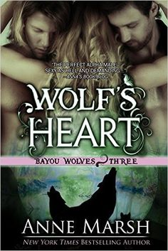 Wolf's Heart: Bayou Wolves, Book Three -This is my first Bayou Wolves story, but I enjoyed that it can be read without reading previous books to understand the story. The book is hard hitting, raw and lets you know from the beginning it is not a romance for people looking for sweet. Although the language and sex is rough, it would be what I would expect it to be when talking about two rival MC biker wolf shifter clans. No reason to go into the story as the intro by the author gives you enough.