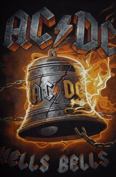 Billedresultat for ac/dc photos Acdc Tattoo, Pop Rock, Rock N Roll, Ac Dc Band, Ac Dc Rock, Heavy Metal Art, Bell Art, Heavy Rock, Rock Posters