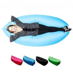 "Inflatable Hammock Sofa - Air Bed - Use code ""Pinned It"" at checkout for 20% off"