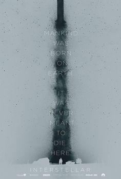Interstellar movie poster by James Fletcher