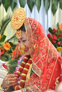 Traditional Nepalese Limbu ethnic jewellery