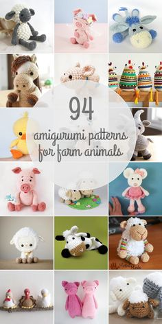 104 Farm Animals Amigurumi Patterns - Page 3