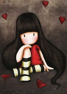 Gorjuss, Limoon, Silke Leffler etc [My Collection] - Johanna Eerola - Álbumes web de Picasa Illustration Mignonne, Cute Illustration, Art Fantaisiste, Art Mignon, Santoro London, Cross Paintings, Illustrations, Whimsical Art, Pretty Pictures
