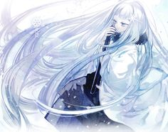 Seta, Pixiv Fantasia T Pixiv Fantasia, Anime Artwork, Fairy Land, Fantasy, Character, Anime Girls, Winter, Winter Time, Fantasy Books