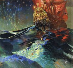 Ferdynand Ruszczyc: Nec Mergitur (1905 - Latin for something like 'it doesn't sink')