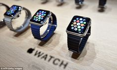 An analyst who previously predicted Apple would sell 24 million Watches (pictured) during 2016 has significantly reduced this figure - to 21 million - following the lukewarm reaction to the wearable.