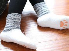Cute Cat Paw Socks - Shop Cute Apparel and Accessories at CuteFTW.com