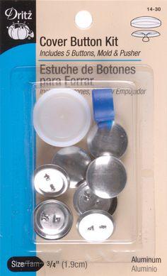 """cover button kits-size 30 3/4"""" 5/pkg"""
