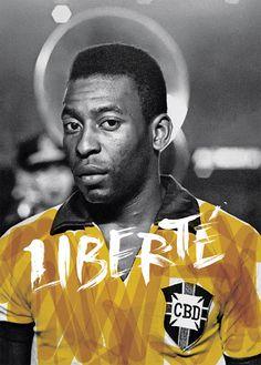 PELÉ : futebolnoposter.blogspot.com.br/