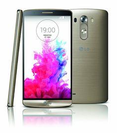 LG G3 Smartphone (14 cm (5,5 Zoll) Quad-HD-IPS-Display, 2.5-GHz-Quad-Core-Prozessor, 13-Megapixel-Kamera, 32 GB Speicher, Android 4.4) - Gold: LG: Amazon.de: Elektronik