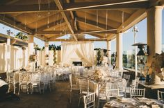 Chic Wedding Reception at The St. Regis Monarch Beach Club 19