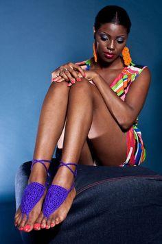 Shawnie Best runs Crochet N Plenty, an Etsy shop full of flirty #crochet