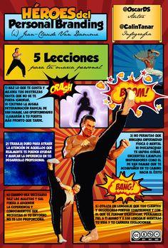 Tips de #Branding personal de Jean Claude Van Damme