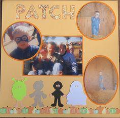 Punkin Patch 1998 Layout page 2 - Scrapbook.com