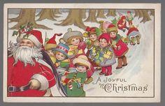 1915 Christmas Postcard