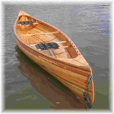 Dream boat! - handcrafted canoe from Scott's Boat Works