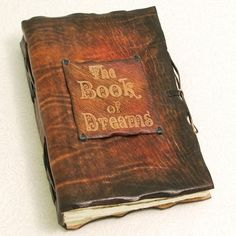 Dark Brown Book Of Dreams Leather journal by GILDBookbinders