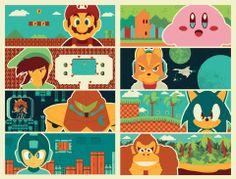 SuperMario, Sonic, Zelda, Kirby, MegaMan, Nintendo & more.