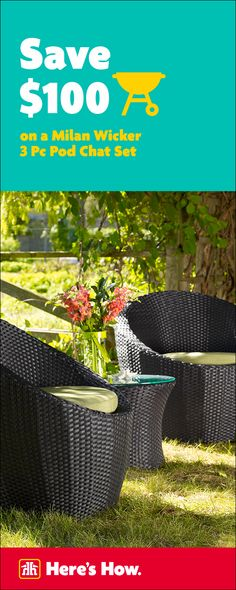 Get your backyard entertainment ready. The Outdoor Living Event, on now until June 5.