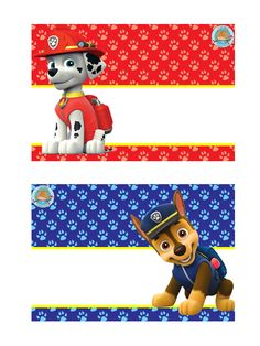 Marshall y Chase 5th Birthday Party Ideas, First Birthday Photos, 3rd Birthday, Paw Patrol Birthday Theme, Paw Patrol Party, Paw Patrol Names, Imprimibles Paw Patrol, Cumple Paw Patrol, Paw Patrol Invitations