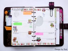 The week nr. 21 - owl week #planner