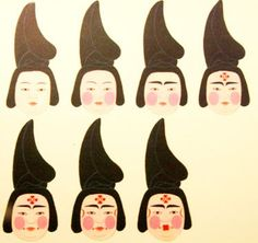 Tang Dynasty Make up -pin it from carden