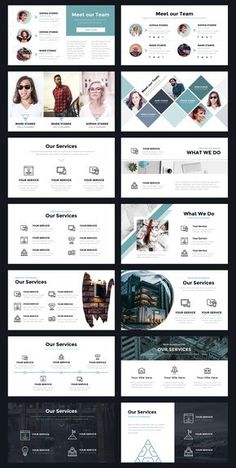 Portal Modern Powerpoint Template by Thrivisualy on Indesign Presentation, Presentation Layout, Presentation Slides, Business Presentation, Powerpoint Design Templates, Booklet Design, Startup, Slide Design, Brochure Design