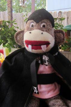 Count monkey Dracula