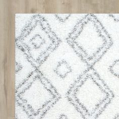 Baxley White Area Rug