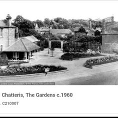 Chatteris the gardens c 1960 Gardens, Painting, Art, Art Background, Outdoor Gardens, Painting Art, Kunst, Garden, Paintings