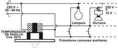 Cambiar automático de escalera de pendulo por electrónico - Electricidad domiciliaria - YoReparo