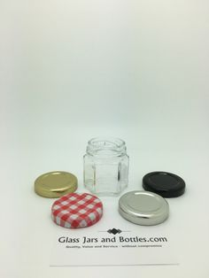 Hexagonal Glass Jars | Hexagonal Jam Jars