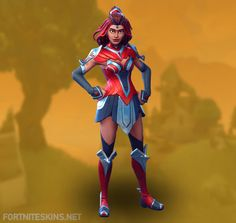 Valor Outfit in Fortnite Battle Royale.