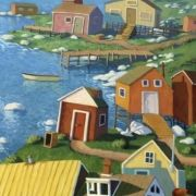 Paul Hannon Art by PaulHannonArt Acrylic Artwork, Canadian Artists, Newfoundland, Oil On Canvas, Coastal, Quilts, Drawings, Painting, Etsy