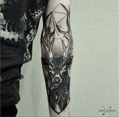 Beautiful geometric tattoo - lukas zglenicki
