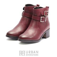 Botine dama din piele naturala Leofex - 068 Visiniu Box Marimo, Rubber Rain Boots, Biker, Box, Casual, Shoes, Fashion, Moda, Snare Drum