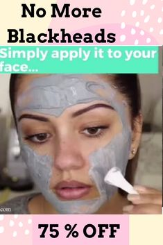 Get Rid of Blackheads with our Charcoal Blackhead Mask. This Carbonated Bubble Clay Charcoal Blackhead Mask is both a deep-cleansing makeup remover like a homemade blackhead cream! It's formulated with key ingredients like charcoal powder, green tea extracts and collagen. Our Original Charcoal Blackhead Mask. 75 % Off  #blackheadsremovalmask #HomeMadeBlackhead #blackheadsremovalmaskproducts  #CharcoalBlackheadMask #homemadeblackhead #charcoalblackheadmask #blackheadsremovalhomemade #blackhead Blackheads Removal Cream, Get Rid Of Blackheads, Blackhead Remedies, Blackhead Mask, Best Blackhead Treatment, Blackhead Remover Homemade, Carbonated Bubble Clay Mask, Whitening Skin Care, Skin Care Treatments