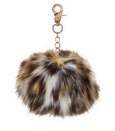Discover the latest trends at New Look. Pretty Little Lairs, Faux Fur Pom Pom, Key Chain Rings, Brown Leopard, Saved Items, New Look, Drop Earrings, Accessories, Pom Poms