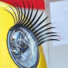 Wimper auto decoratieve Voertuig Koplamp Sticker (paar) – EUR € 3.74