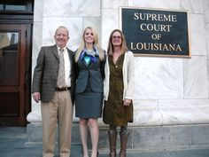 Have to brag! My daughter was recently sworn in to the Louisiana Bar Association at the Louisiana Supreme Court building in New Orleans. She can now practice law here in Louisiana!
