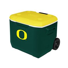 Coleman Company Oregon Ducks  University of Oregon Performance Cooler 60 quart GreenYellow * You can find more details by visiting the image link.